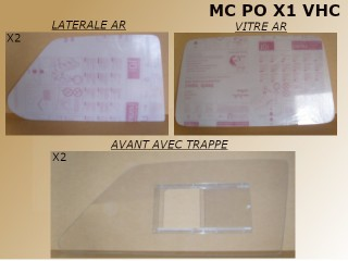 KIT VITRAGE POLYCARBONATE...