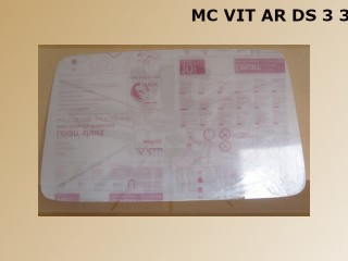 VITRE AR DS3 3mm THERMOFORMEE