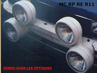 RAMPE PC RENAULT R11