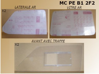 KIT POLYCARBONATE 205 F2000