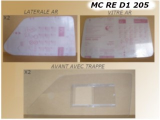 KIT POLYCARBONATE R5 5mm